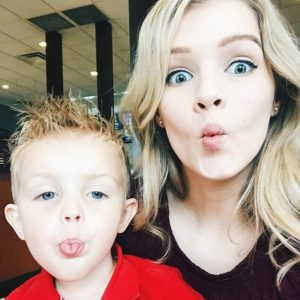 What a ham! (Scroll for more!) 🤣 #CarsonPaine #JosieBates