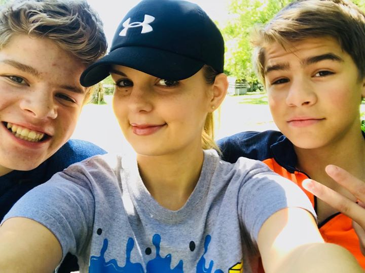 Thanks, Alyssa, for letting the boys visit! They didn't want to come home I'm…