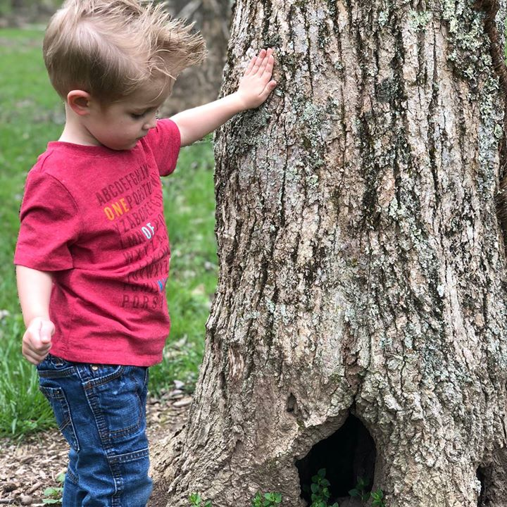 I'm always intrigued by how the smallest things bring sheer delight to a child!…