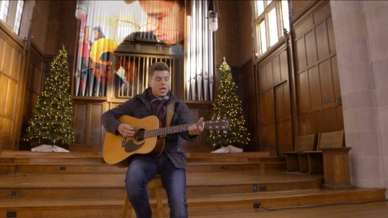 "Lawson's new video for ""Back To Christmas"" is so moving & very fitting! Hope…"
