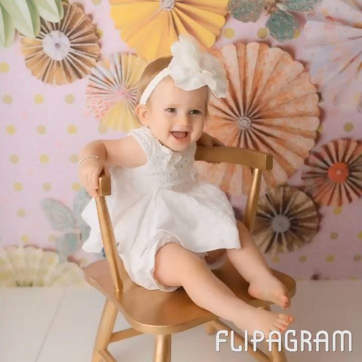 Happy First Birthday, sweet Kaci Lynn! How could my heart not be melted by…