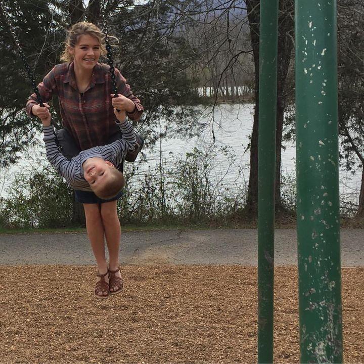 Picnic and playground = perfect Saturday! #Josie #Judson #CoveLake
