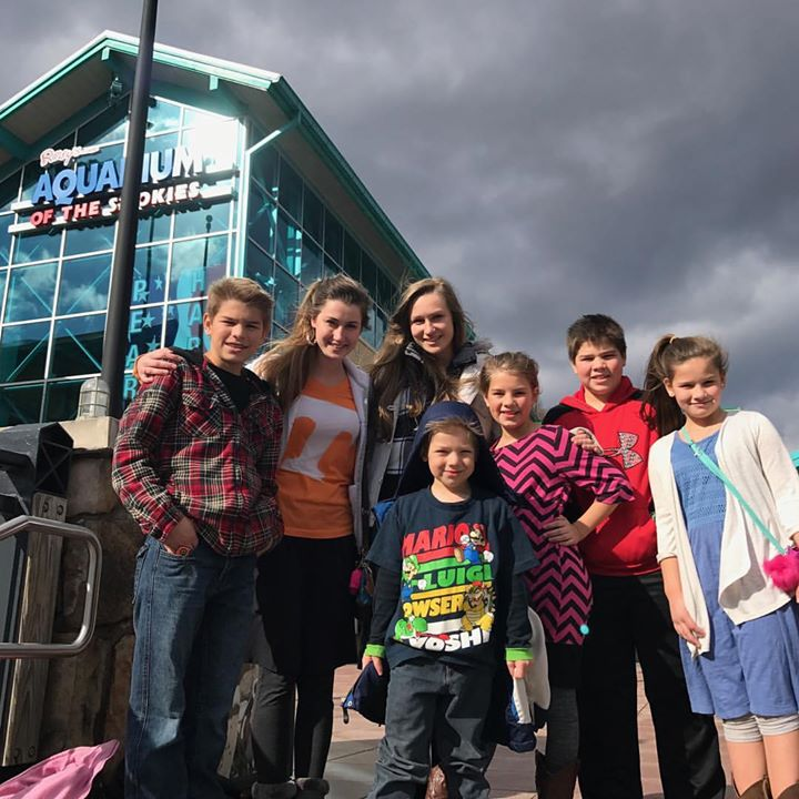 Field trip to the aquarium! A huge thank you to Chad's sisters for spending…