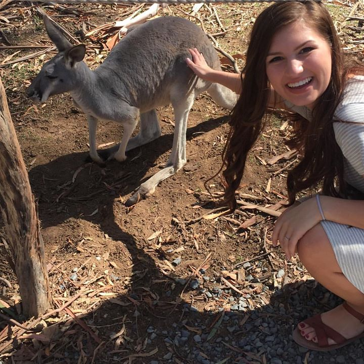 Carlin met Kanga and some really really lovely Aussies that will leave her with…