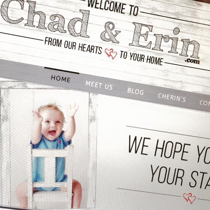 Chad and Erin recently launched a new website! Visit it at